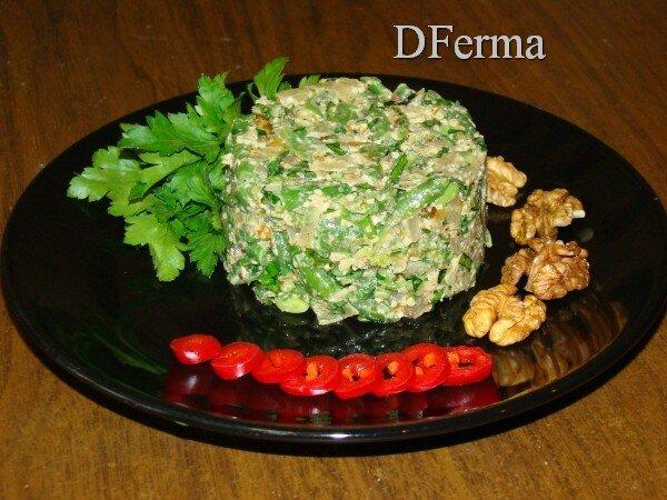 Купить лобио из стручковой фасоли  Лобио из стручковой фасоли с грецкими орехами и ароматными травами - поистине ресто..