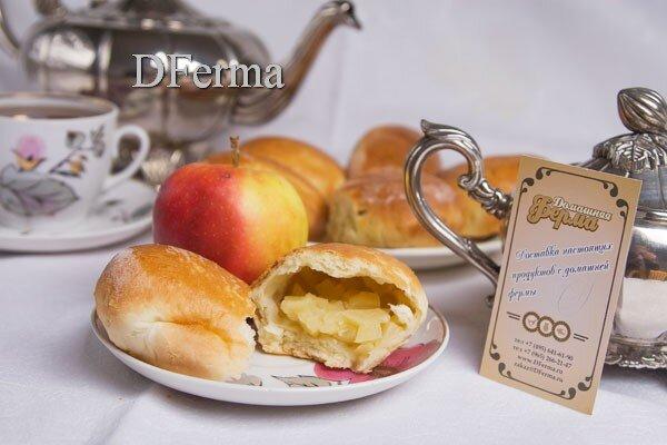 Домашние прожки с яблоком  Ценность яблочной начинки очевидна. «Витаминное» блюдо придется по вкусу любителям сладеньк..