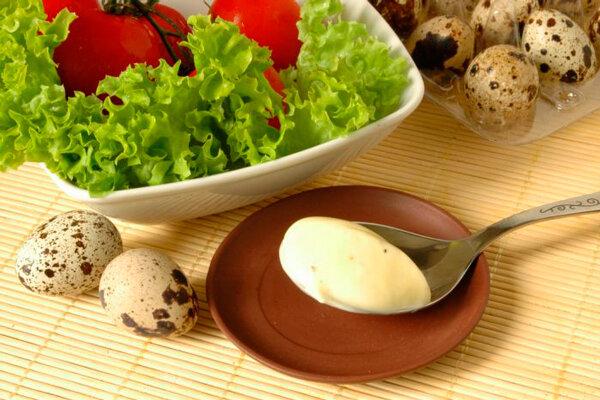 Майонез домашний на перепелиных яйцах Французский холодный соус, в состав которого помимо традиционных натуральных инг..