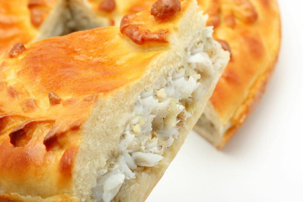 Пирог с судаком и капустой Пирог с судаком и капустой имеет отличительный нежный и насыщенный вкус! Если вы неуспели с..