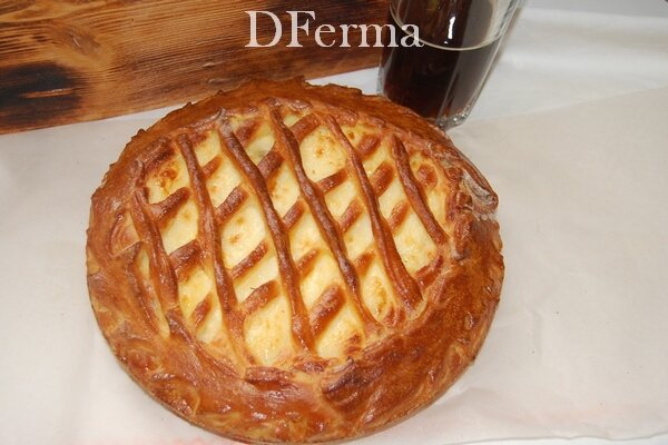 Пирог с творогом и курагой  Как сытно, вкусно, а главное полезно позавтракать? Конечно, свежей выпечкой из творога и к..