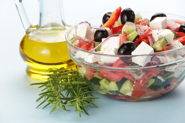 Купить греческий салат Легкий овощный салат греческий, который не просто вкусный и питательный, но и насыщен яркими цв..